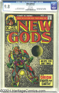 """Bronze Age (1970-1979):Superhero, The New Gods #1 (DC, 1971) CGC NM/MT 9.8 White pages. The coverblurb announced """"an epic for our times,"""" and many a comics f..."""