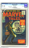 Silver Age (1956-1969):Horror, Marvel Tales #144 Bethlehem pedigree (Atlas, 1956) CGC VF- 7.5 Off-white pages. Al Williamson, Roy Krenkel, and John Forte a...
