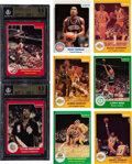 Basketball Cards:Sets, 1983-84 Star Co. Basketball High-Grade Complete Set (275). ...
