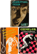 Books:Mystery & Detective Fiction, S. Fowler Wright. Group of Three Inspector Cleveland Mysteries. New York: Macaulay, [1931]-[1933]. First editions.... (Total: 3 Items)