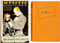 Books:Mystery & Detective Fiction, Basil Thomson. Two copies of Mr. Pepper, Investigator. London: John Castle, 1925. Including presumed first edition.... (Total: 2 Items)