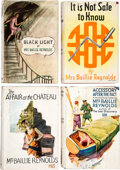 Books:Mystery & Detective Fiction, Baillie Reynolds, Mrs. Group of Four Mystery Novels. London: Hodder & Stoughton, [N.D. but c.a. 1928]-[1939]. Presumed first... (Total: 4 Items)