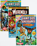 Bronze Age (1970-1979):Horror, Werewolf by Night Group of 25 (Marvel, 1972-77) Condition: Average VF/NM.... (Total: 25 Comic Books)