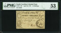 Colonial Notes:South Carolina, South Carolina April 10, 1778 15 Shillings Fr. SC-150 PMG About Uncirculated 53. . ...