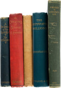 Books:Mystery & Detective Fiction, [Various Authors]. Lot of Five First or Early Editions. [Various places: various publishers], 1869-1894. ... (Total: 5 Items)