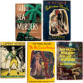 Books:Mystery & Detective Fiction, Van Wyck Mason. Lot of Five First Editions. New York and London: [various publishers], 1931-1961.... (Total: 5 Items)