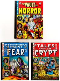 EC Reprint Library Horror Group of 3 (Russ Cochran, 1980s).... (Total: 3 Items)