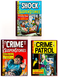 EC Reprint Library Crime Group of 3 (Russ Cochran, 1980s).... (Total: 3 Items)
