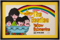 "Music Memorabilia:Memorabilia, The Beatles Yellow Submarine ""A Paperback Extravaganza"" Promotional AD (King Features, 1968)...."