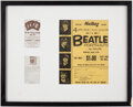"Music Memorabilia:Memorabilia, The Beatles Mailbag Offer ""Four Life Size Portraits by Volpe"" Order forms and Cadbury's Choco Ad (3) (1960's)...."