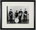 Music Memorabilia:Photos, The Beatles Crossed Guitars Black and White Photograph by Albert Marion (December 17th, 1961). ...