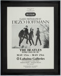 Music Memorabilia:Posters, The Beatles Promo Advertising Poster Classic Photographs by Dezo Hoffmann 1962-1967 Lahaina Galleries....