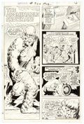 Original Comic Art, Curt Swan and Murphy Anderson Superman #266 Story Page 4 Original Art (DC, 1973)....
