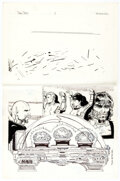Original Comic Art:Illustrations, Todd McFarlane Who's Who in Star Trek #2 Triskelions Illustration Original Art (DC, 1987)....