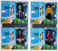 Music Memorabilia:Memorabilia, The Beatles Yellow Submarine 1:6 Scale Set of Four Large Figures in Display Boxes by Factory Ent. (4) (2012). ...