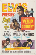 """Movie Posters:Elvis Presley, Wild in the Country (20th Century Fox, 1961). Folded, Very Fine-. One Sheet (27"""" X 41""""). Elvis Presley.. ..."""