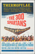 """Movie Posters:Action, The 300 Spartans & Other Lot (20th Century Fox, 1962). Folded, Very Fine. One Sheets (2) (27"""" X 41""""). Action.. ... (Total: 2 Items)"""