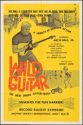 """Movie Posters:Rock and Roll, Wild Guitar (Fairway International, 1962). Folded, Very Fine. One Sheet (27"""" X 41""""). Rock and Roll.. ..."""
