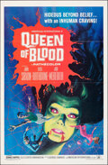 "Movie Posters:Horror, Queen of Blood (American International, 1966). Folded, Very Fine. One Sheet (27"" X 41""). Horror.. ..."
