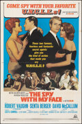 """Movie Posters:Action, The Spy with My Face (MGM, 1965). Folded, Very Fine-. One Sheet (27"""" X 41""""). Action.. ..."""