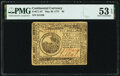 Colonial Notes:Continental Congress Issues, Continental Currency May 20, 1777 $6 PMG About Uncirculated 53 EPQ.. ...