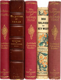 Books:Mystery & Detective Fiction, Archibald Clavering Gunter. Lot of Five First Editions. New York and London: 1888-1906 various publisher's. One is inscribed... (Total: 5 )