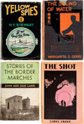Books:Mystery & Detective Fiction, Various Authors. Lot of Four First Editions. [Various places, various publishers], 1914-1942.... (Total: 4 Items)
