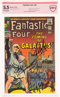 Silver Age (1956-1969):Superhero, Fantastic Four #48 Verified Signature (Marvel, 1966) CBCS FN- 5.5 Off-white to white pages....