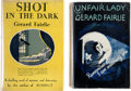Books:Mystery & Detective Fiction, Gerald Fairlie. Lot of Two First Editions. London and New York: [various publishers], 1932.... (Total: 2 Items)