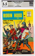 Golden Age (1938-1955):Adventure, Robin Hood Tales #3 River City Pedigree (Quality, 1956) CGC FN- 5.5 Off-white to white pages....