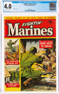 Golden Age (1938-1955):War, Fightin' Marines #12 (St. John, 1953) CGC VG 4.0 Cream to off-white pages....