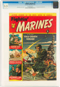 Golden Age (1938-1955):War, Fightin' Marines #2 (St. John, 1951) CGC VG- 3.5 Off-white pages....