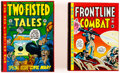 Memorabilia:Comic-Related, EC Reprint Library War-Related Slipcase Sets Group of 2 (EC).... (Total: 2 Items)