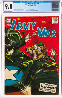 Our Army at War #64 (DC, 1957) CGC VF/NM 9.0 Off-white to white pages