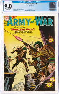 Our Army at War #31 (DC, 1955) CGC VF/NM 9.0 Off-white pages
