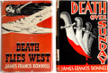 Books:Mystery & Detective Fiction, James Francis Bonnell. Lot of Two First Editions. New York: Scribner's, 1940-1941.... (Total: 2 Items)