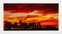 Lou Reed (20th century) Untitled (Cityscape) Digital print in colors on paper 9-1/2 x 17 inches (