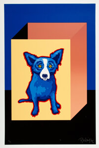 George Rodrigue (1944-2013) Untitled, early 21st century Serigraph in colors on wove paper 34 x 2