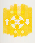 Prints & Multiples, George Earl Ortman (1926-2015). Untitled, from X + X, 1964. Screenprint in colors on paper. 24 x 20 inches (61 x 50....