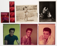Elvis Presley Group of Photos and Transparencies