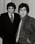 Photographs, Ron Galella (American, b. 1931). Robert de Niro and Al Pacino, 1980. Gelatin silver. 20 x 16 inches (50.8 x 40.6 cm). Si...