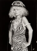 Photographs, Bob Gruen (American, b. 1945). Debbie Harry at Max's Kansas City, New York, 1976. Gelatin silver, printed 1984. 15-7/8 x...