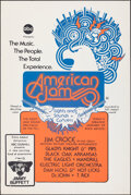 """Movie Posters:Rock and Roll, American Jam (ABC, 1974). Rolled, Very Fine. One Sheet (27"""" X 41""""). Rock and Roll.. ..."""