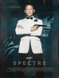 "Movie Posters:James Bond, Spectre (Columbia, 2015). Folded, Very Fine. French Grande (46.25"" X 62""). James Bond.. ..."