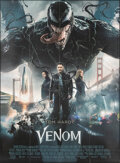 """Movie Posters:Action, Venom (Sony Pictures Releasing International, 2018). Folded, Very Fine+. French Grande (45.5"""" X 62""""). Action.. ..."""