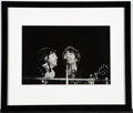 Music Memorabilia:Photos, The Beatles Photo Print From Candlestick Park Performance Signed by Photographer....