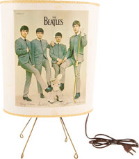 The Beatles Original Table Lamp with Oval Shade and Base (USA, 1964)