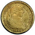 Colombia, Colombia: Charles III gold Escudo 1779 P-SF AU55 PCGS,...