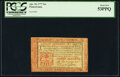 Colonial Notes:Pennsylvania, Pennsylvania April 10, 1777 16 Shillings Red and Black Fr. PA-221b PCGS About New 53PPQ.. ...