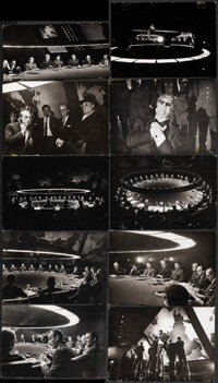 Dr. Strangelove or: How I Learned to Stop Worrying and Love the Bomb (Shepperton Studios, 1964). Fine+. British Producti...